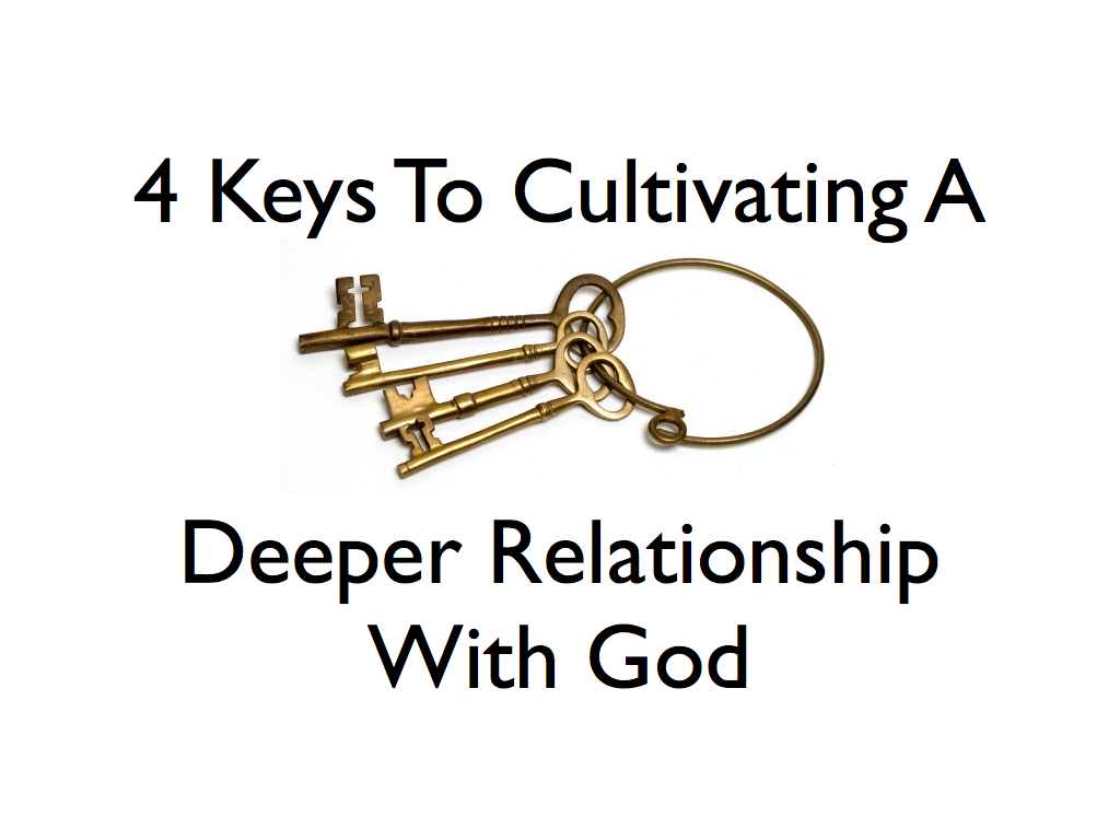 finding a deeper relationship with god